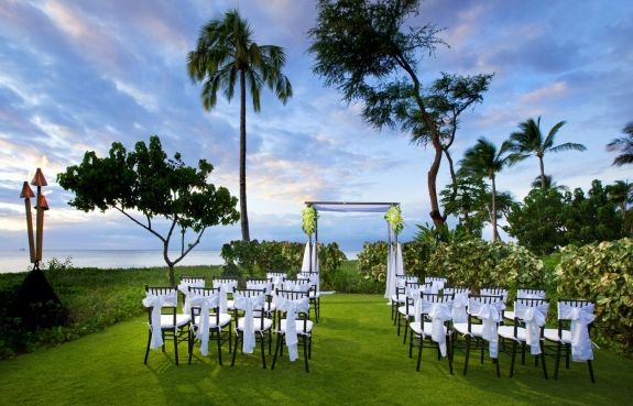 The Westin Ka Anapali Ocean Resort Villas Beachside Wedding Venue